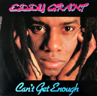 Eddy Grant ‎- Can't Get Enough (LP) (G/G)